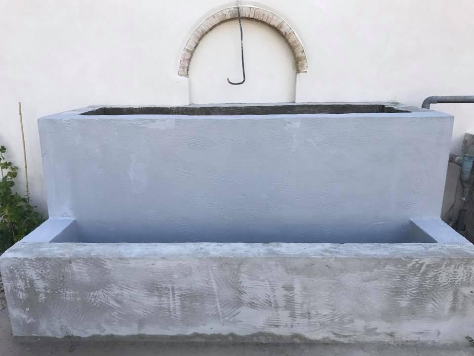 rendre une fontaine etanche