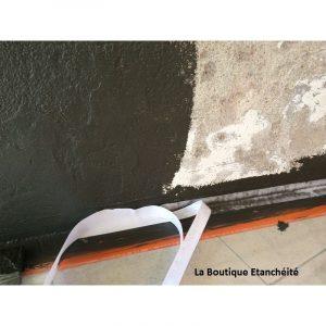 rénovation douche italienne bande renfort
