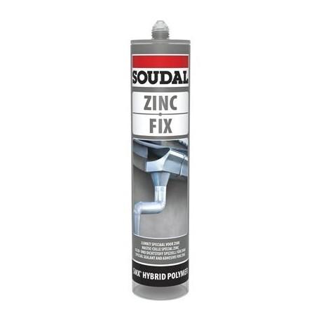 mastic colle zinc etancheite toiture