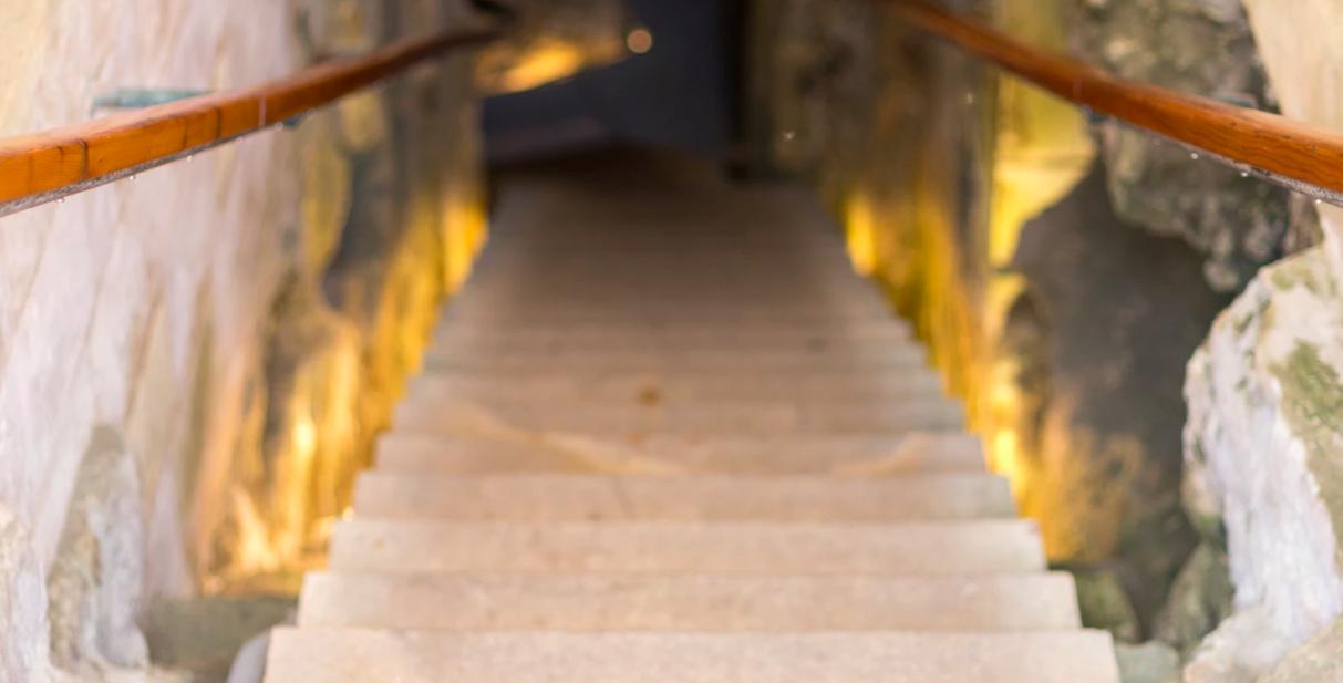 infiltration eau escalier