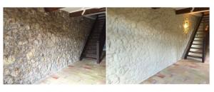 colmater fissure trou garage cave