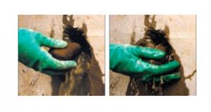 mortier obturation fuite eau