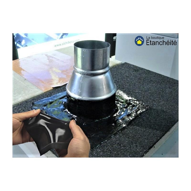 resine reparation cheneau zinc