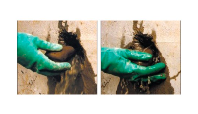 mortier obturation fuite eau vide sanitaire