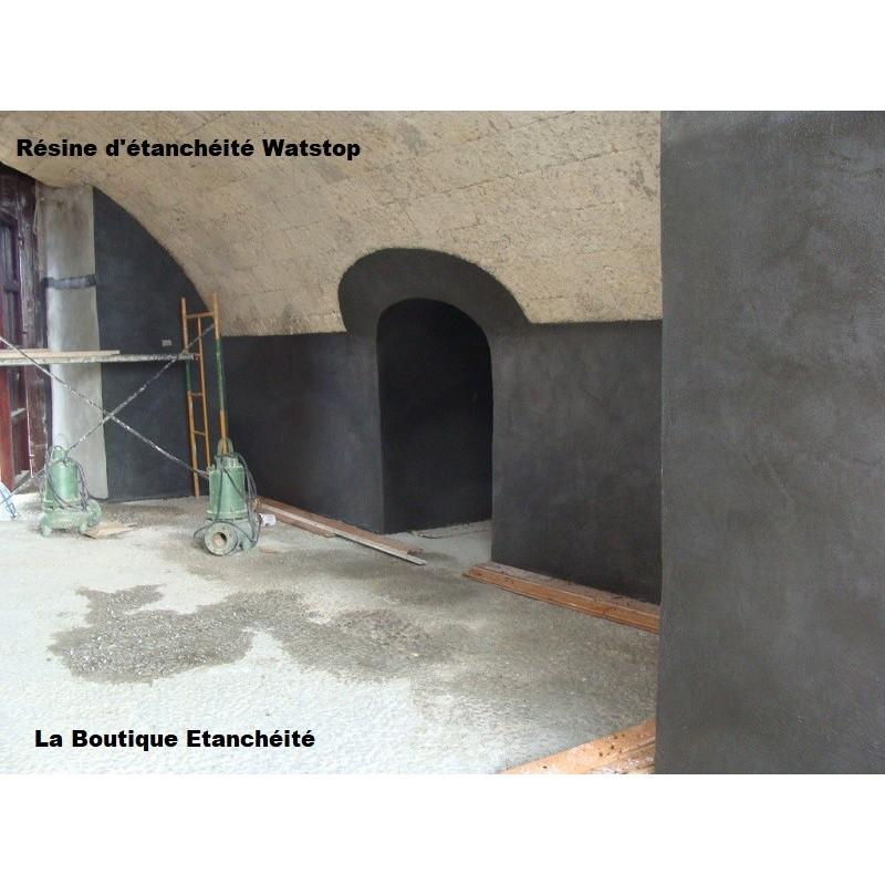 résine infiltration eau sous-sol vide-sanitaire