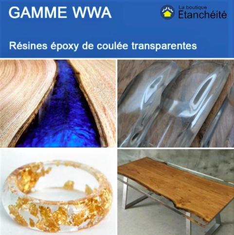 résine epoxy table resine table riviere